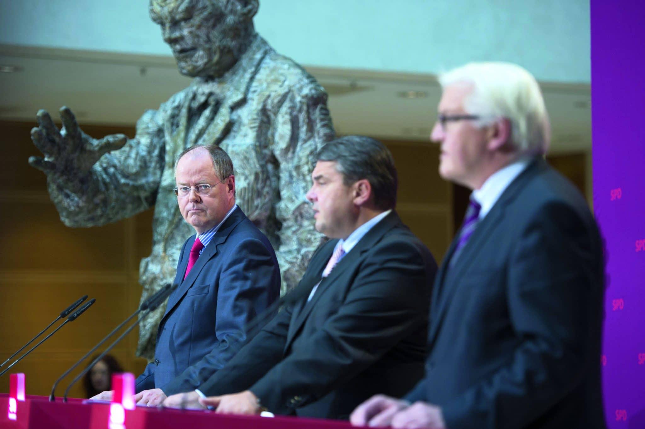 Die Kandidatenkür im Willy-Brandt-Haus, Foto: Marco Urban