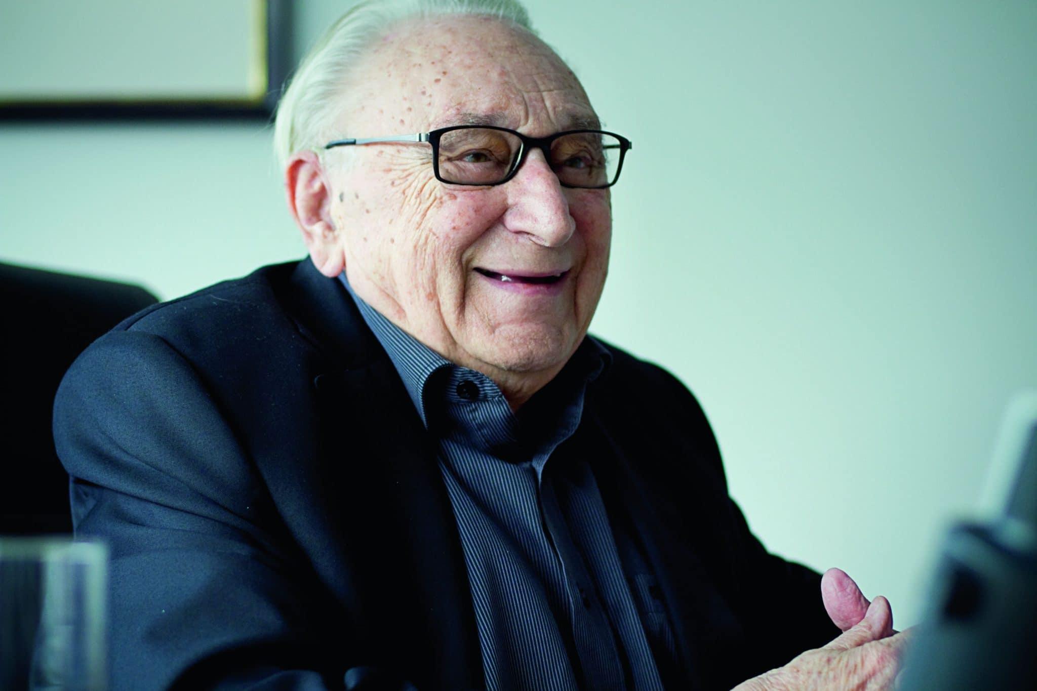 Egon Bahr, Foto: Stephan Baumann