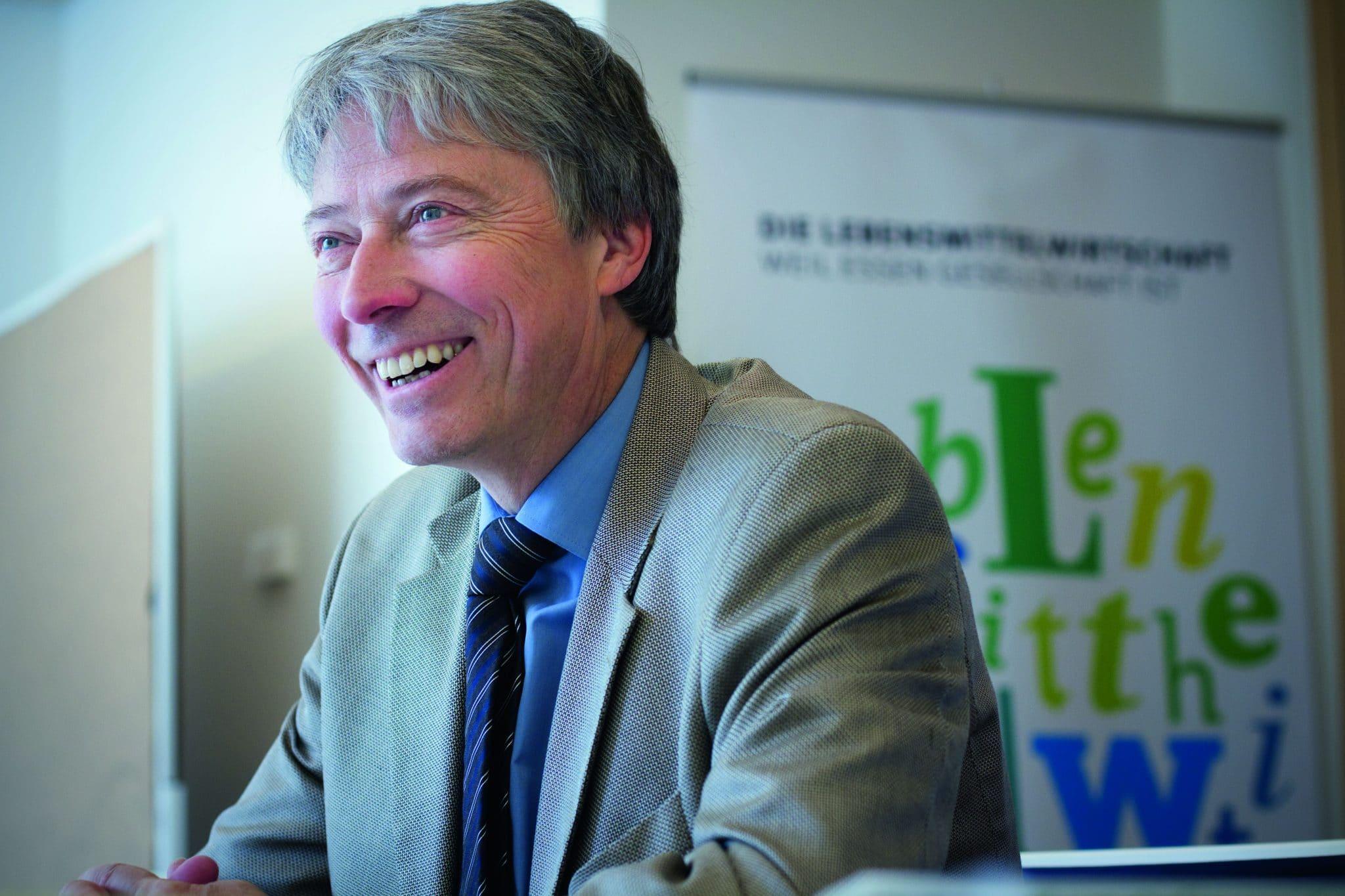 Sieht sich nicht als Lobbyist – Stephan Becker-Sonnenschein kämpft für ein besseres Image der Lebensmittelbranche, Foto: baumannstephan.com
