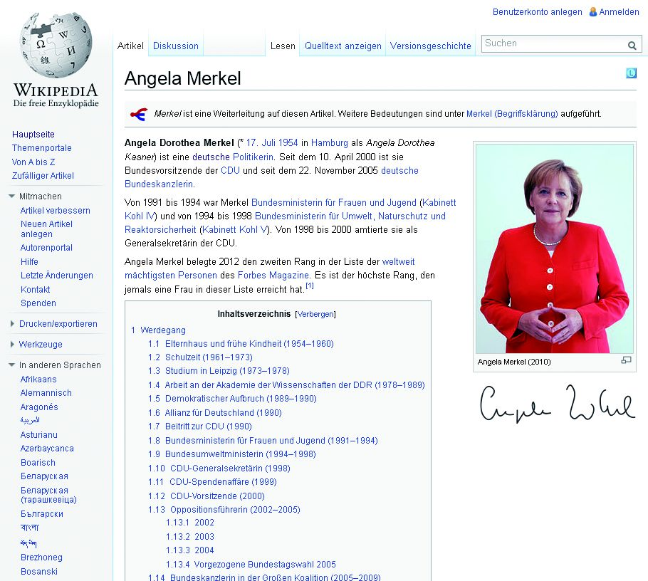 Foto: Privat Screenshot, cc Armin Linnartz Foto: wikipedia.org, cc Armin Linnartz