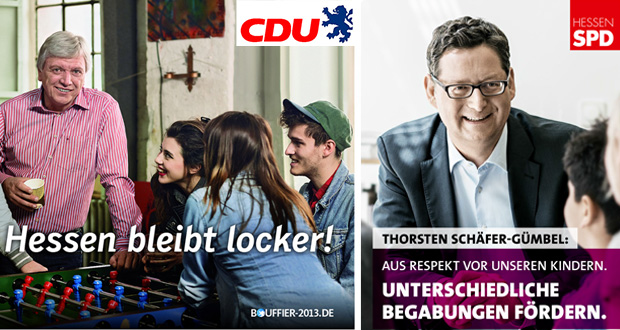 Fotos: CDU Hessen, SPD Hessen