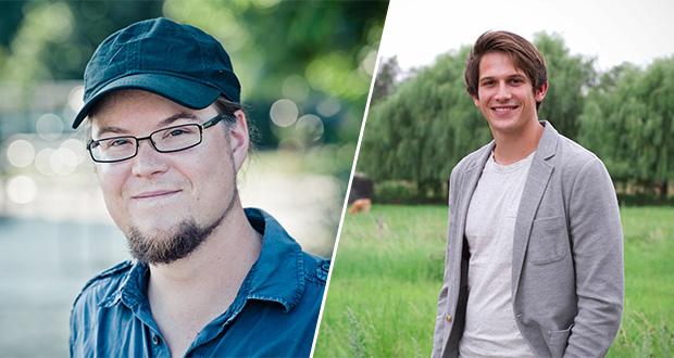 Norbert Müller (l.) und Max Koziolek, Fotos: Allbrecht Noack, Stephan Baumann