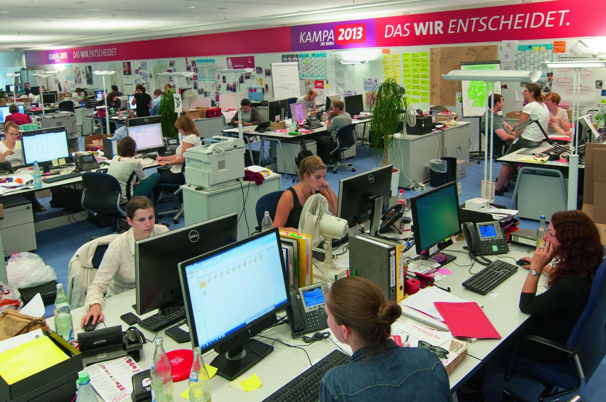 Kampa, das hat seit 1998 einen fast magischen Klang: Zwei Etagen, 80 Mitarbeiter, 23 Millionen Euro Budget, Fotos: Laurin Schmid