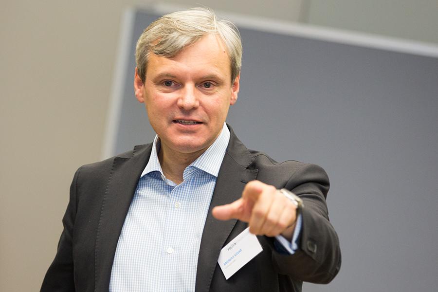 """Andreas Kovar: """"Lobbying wird zu oft noch als Absenden von Meinungen, Positionspapieren und Studien verstanden."""" Foto: Laurin Schmid"""