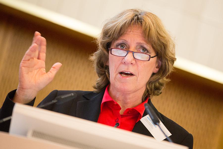 """Birgit Fischer: """"Die Politik muss damit Schluss machen, immer nur zu regulieren und versuchen zu wollen, Dinge zu begrenzen."""" Foto: Laurin Schmid"""