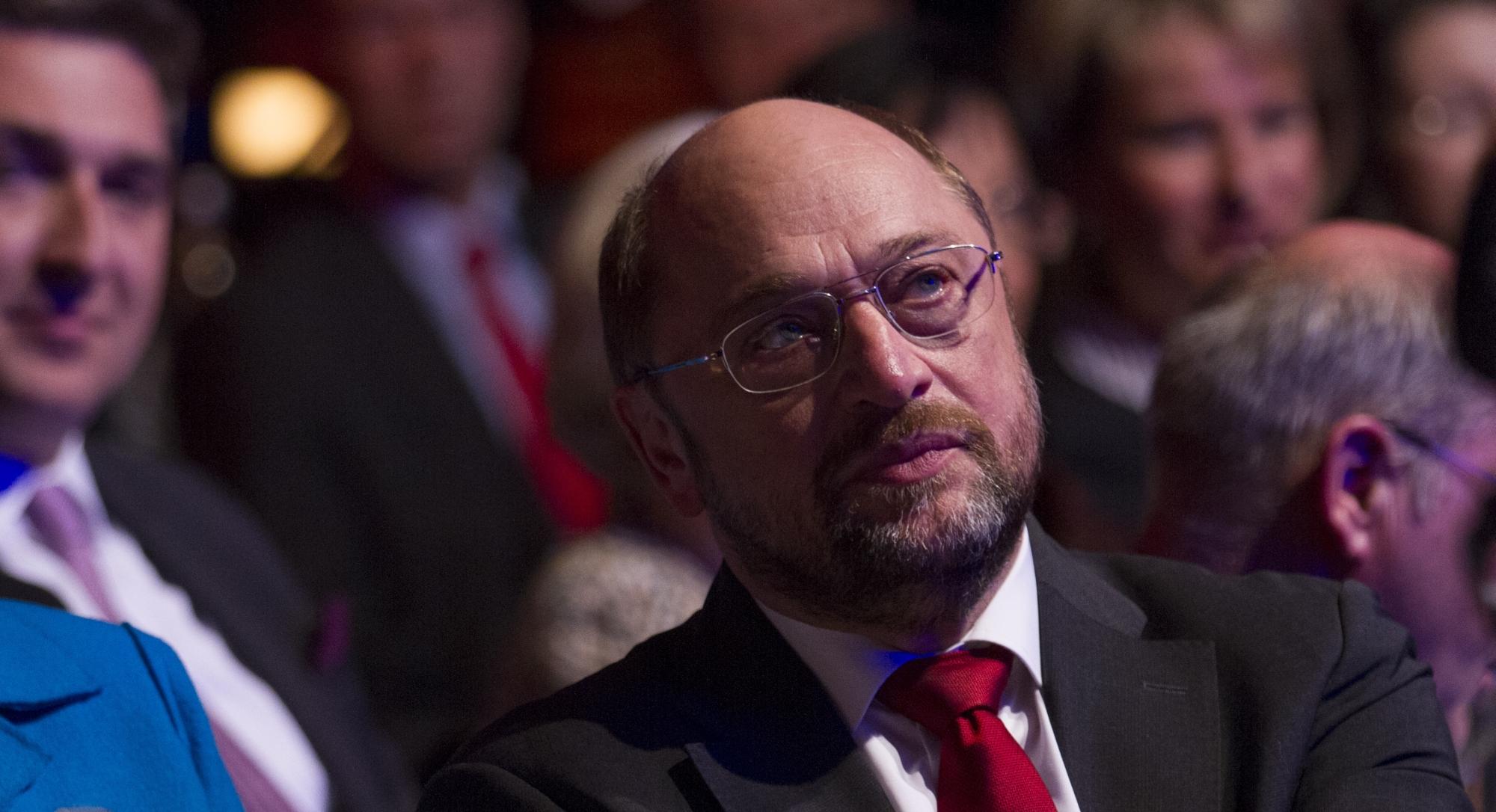 Europaparlamentspräsident Martin Schulz beim Politikaward 2013. Foto: Stephan Baumann
