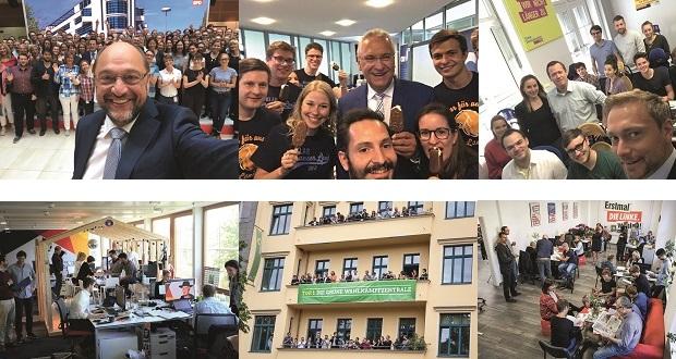 Fotos: SPD, CSU, FDP, CDU, Grüne, Linke