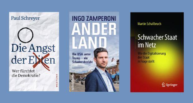 Cover: Westend Verlag, Ullstein, Springer