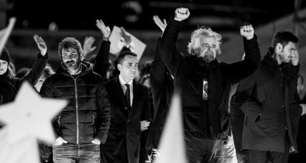 Die italienische Fünf-Sterne-Bewegung (c) Picture Alliance