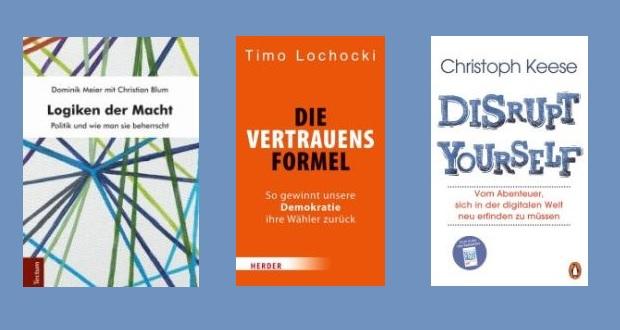Collage: Tectum-Verlag, Herder, Verlagsgruppe Random House