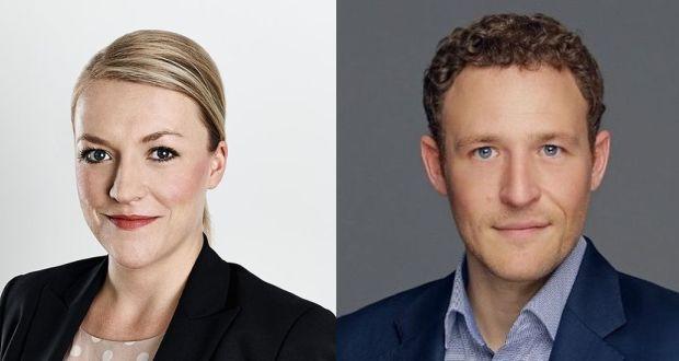 Jana Kusick und Shane Coffey
