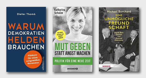 Collage: (1) Ullstein (2) Droemer Knaur (3) Herder